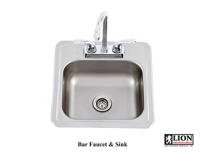Lion Bar Sink W/ Faucet – 54167