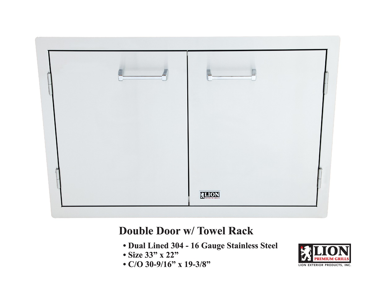 Lion 33″ Double Access Door – L3322