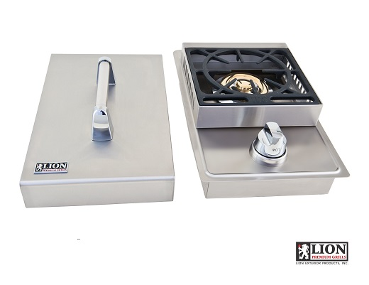 Lion Single Side-Burner (NG | Natural Gas) – L5631