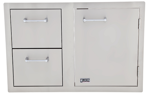 Lion Door And Drawer Combo – L3320